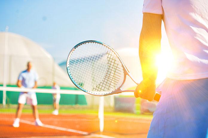 Igranje tenisa