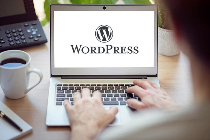Wordpress stran