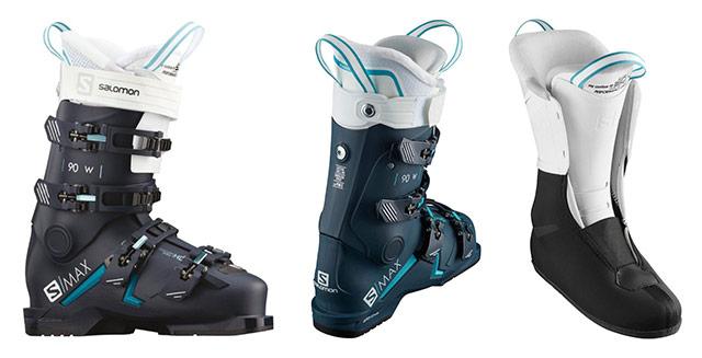 Ženski smučarski čevlji Salomon S MAX 90 W
